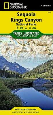 Sequoia/Kings Canyon National Park - National Geographic Maps (Compiled by)
