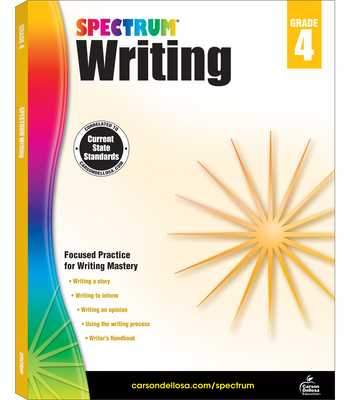 Spectrum Writing, Grade 4 - Spectrum (Compiled by)
