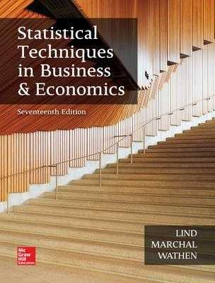 Statistical Techniques in Business and Economics - Lind, Douglas, and Marchal, William, and Wathen, Samuel