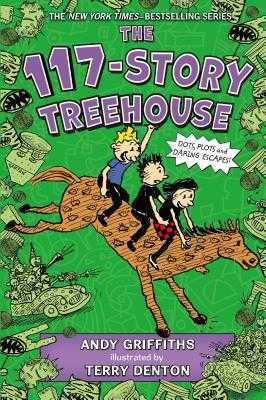 The 117-Story Treehouse: Dots, Plots & Daring Escapes! - Griffiths, Andy