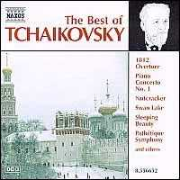 The Best of Tchaikovsky - Bernd Glemser (piano); Ilona Prunyi (piano); Maria Kliegel (cello); Takako Nishizaki (violin)
