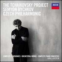 The Tchaikovsky Project: Complete Symphonies, Orchestral Works, Complete Piano Concertos - Kirill Gerstein (piano); Czech Philharmonic Orchestra; Semyon Bychkov (conductor)
