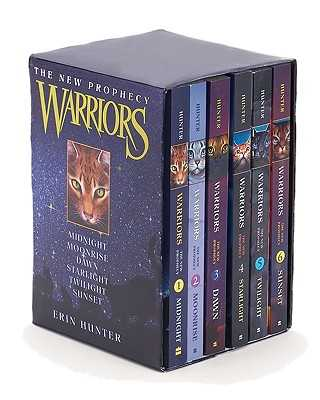 Warriors: The New Prophecy Box Set: Volumes 1 to 6 - Hunter, Erin L