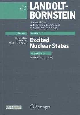 Z = 1-29. Excited Nuclear States - Schopper, Herwig (Editor)