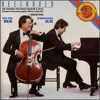 Beethoven: Sonatas for Cello & Piano; Variations, WoO. 46; Variations, Op. 66 - Emanuel Ax (piano); Yo-Yo Ma (cello)