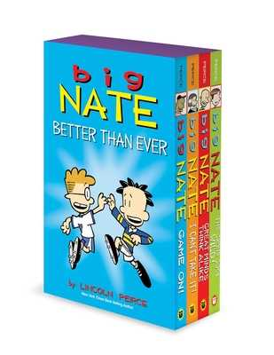 Big Nate Better Than Ever: Big Nate Box Set Volume 6-9 - Peirce, Lincoln