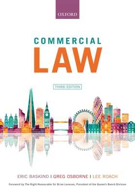 Commercial Law book by Eric Baskind, Greg Osborne, Lee Roach