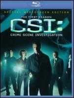 CSI: Crime Scene Investigation - The First Season [5 Discs] [Blu-ray] -