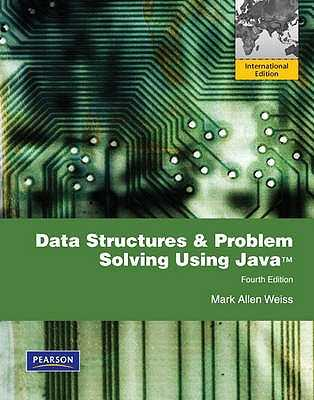 Data Structures and Problem Solving Using Java: International Edition - Weiss, Mark Allen
