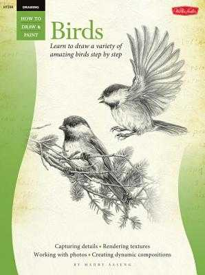 Drawing: Birds: Learn to Draw a Variety of Amazing Birds Step by Step - Aaseng, Maury