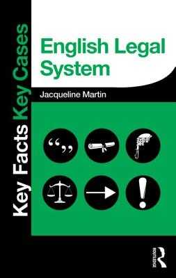 English Legal System - Martin, Jacqueline