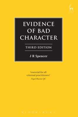 Evidence of Bad Character - Spencer, John