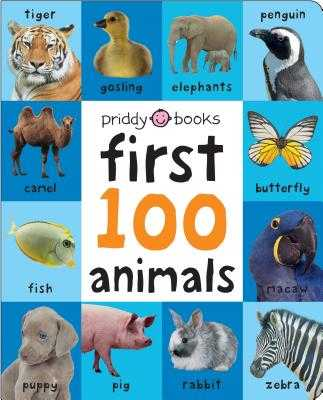 First 100 Animals - Priddy, Roger