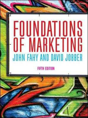 Foundations of Marketing - Fahy, John, and Jobber, David