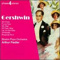Gershwin Concert - Ralph Votapek (piano); Boston Pops Orchestra; Arthur Fiedler (conductor)