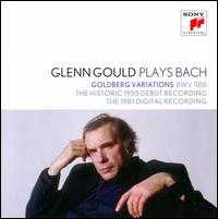 Glenn Gould Plays Bach: Goldberg Variations [1955 & 1981] - Glenn Gould (piano)