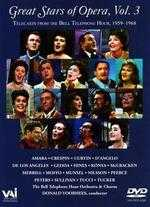 Great Stars of Opera, Vol. 3: Telecasts from the Bell Telephone Hour, 1959-1968