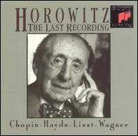 Horowitz: The Last Recording - Vladimir Horowitz (piano)