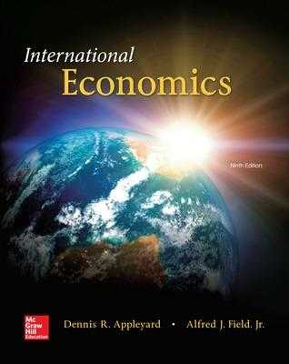 International Economics - Appleyard, Dennis R, and Field, Alfred J