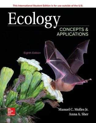 ISE Ecology: Concepts and Applications - Molles, Manuel, and Sher, Anna