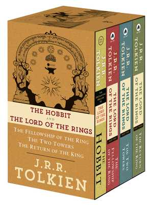 J.R.R. Tolkien 4-Book Boxed Set: The Hobbit and The Lord of the Rings: The Hobbit, The Fellowship of the Ring, The Two Towers, The Return of the King - Tolkien, J.R.R.