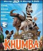 Khumba [2 Discs] [3D] [Blu-ray/DVD] - Anthony Silverston