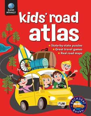 Kids' Road Atlas - Rand McNally