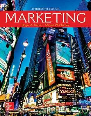 Marketing - Kerin, Roger a, and Hartley, Steven W