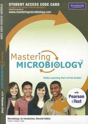 Mastering Microbiology with Pearson Etext -- Standalone Access Card -- For Microbiology: An Introduction - Tortora, Gerard J, and Funke, Berdell R, and Case, Christine L