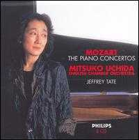 Mozart: The Piano Concertos - Mitsuko Uchida (piano); English Chamber Orchestra; Jeffrey Tate (conductor)