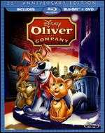 Oliver and Company [25th Anniversary Edition] [2 Discs] [Blu-ray] - George Scribner