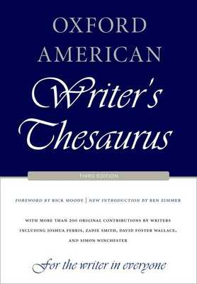 Oxford American Writer's Thesaurus - Auburn, David (Editor), and Armantrout, Rae (Editor), and Crystal, David (Editor)