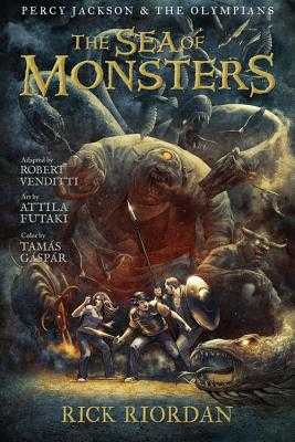 Percy Jackson and the Olympians Sea of Monsters, The: The Graphic Novel - Riordan, Rick, and Venditti, Robert