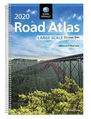 Rand McNally 2020 Road Atlas Large Scale - Rand McNally