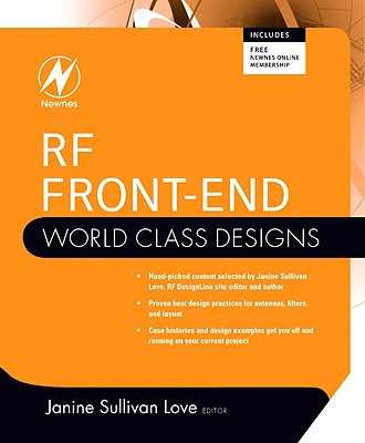 RF Front-End: World Class Designs - Love, Janine (Editor)