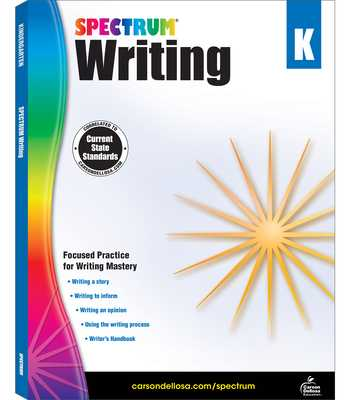 Spectrum Writing, Grade K - Spectrum (Compiled by)