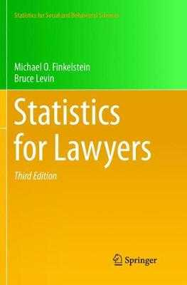 Statistics for Lawyers - Finkelstein, Michael O, and Levin, Bruce
