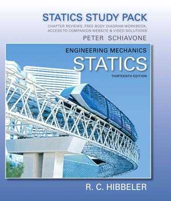 Study Pack for Engineering Mechanics: Statics - Hibbeler, Russell C.