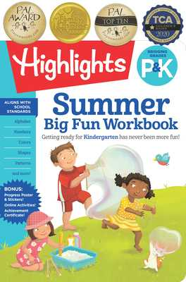 Summer Big Fun Workbook Bridging Grades P & K - Highlights Learning (Creator)