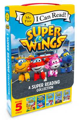 Super Wings: A Super Reading Collection: Cold Feet, a Super First Day, Lost Stars, Shark Surf Surprise, Airport Adventure - Foxe, Steve
