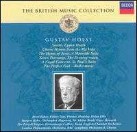 The British Music Collection: Gustav Holst - Grimethorpe Colliery Band; Janet Baker (mezzo-soprano); Julia Bogorad (flute); Kathryn Greenbank (oboe); Osian Ellis (harp);...