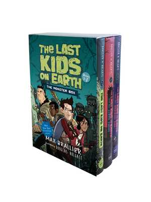 The Last Kids on Earth: The Monster Box - Brallier, Max