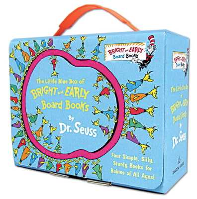 The Little Blue Box of Bright and Early Board Books by Dr. Seuss - Dr Seuss