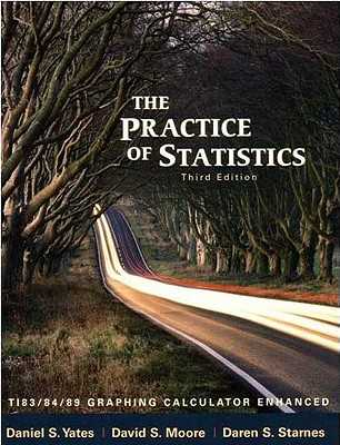 The Practice of Statistics: Ti-83/84/89 Graphing Calculator Enhanced - Yates, Dan, and Moore, David S, and Starnes, Daren S