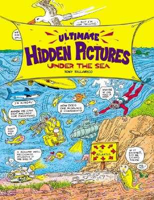 Ultimate Hidden Pictures Under the Sea - Tallarico, Tony
