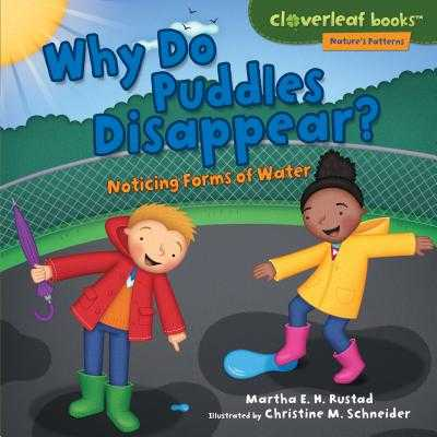 Why Do Puddles Disappear?: Noticing Forms of Water - Rustad, Martha E H