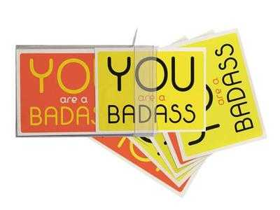 You Are a Badass (R) Notecards: 10 Notecards and Envelopes - Sincero, Jen