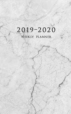 2019-2020 Weekly Planner: Small Two Year Planner 5 x 8 with Marble Cover (Volume 2) - Planners, Edward