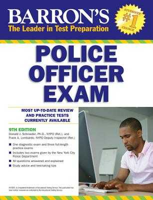 Barron's Police Officer Exam - Schroeder, Donald, and Lombardo, Frank A