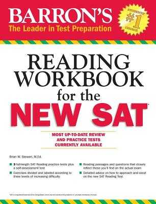 Barron's Reading Workbook for the NEW SAT - Green, Sharon Weiner